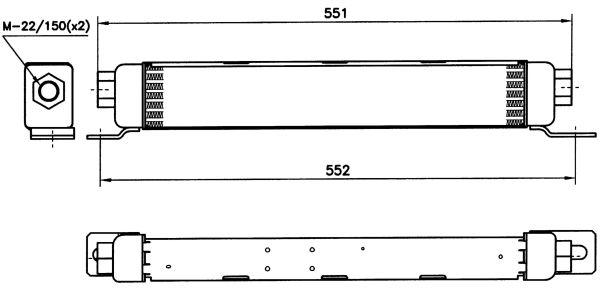 Radiateur huile NRF 31095 (X1)