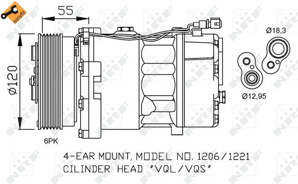 Compresseur NRF 32064 (X1)