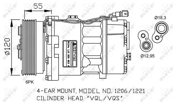 Compresseur NRF 32064G (X1)