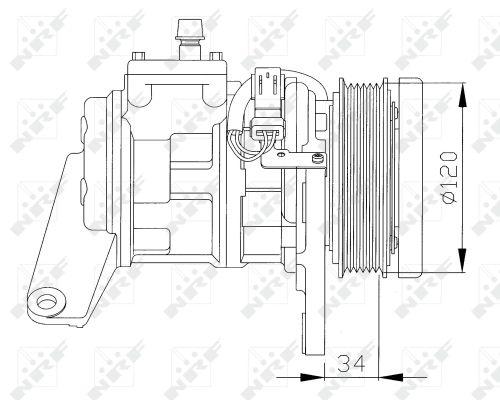 Compresseur NRF 32092 (X1)