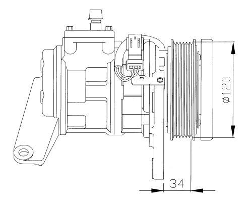Compresseur NRF 32092G (X1)