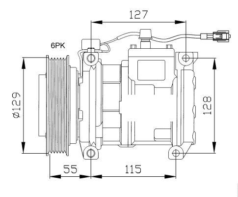 Compresseur NRF 32093 (X1)