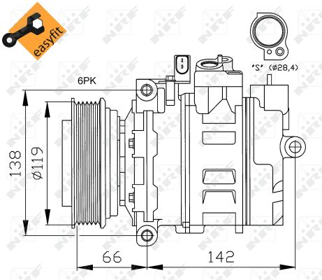 Compresseur NRF 32111 (X1)