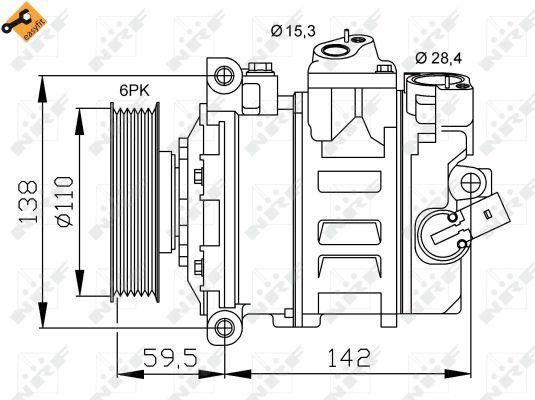 Compresseur NRF 32146 (X1)