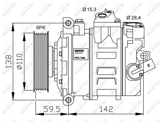 Compresseur NRF 32146G (X1)