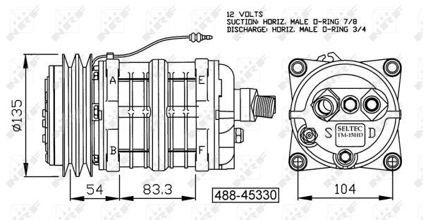 Compresseur NRF 32156G (X1)
