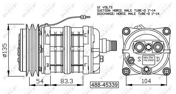 Compresseur NRF 32163G (X1)