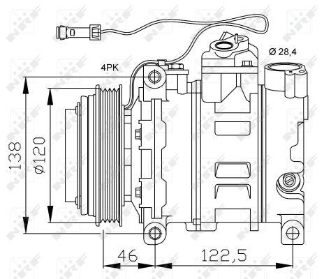 Compresseur NRF 32167 (X1)