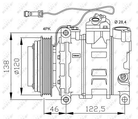 Compresseur NRF 32167G (X1)