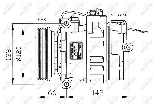 Compresseur NRF 32177G (X1)