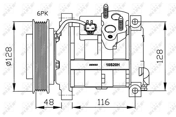 Compresseur NRF 32203G (X1)