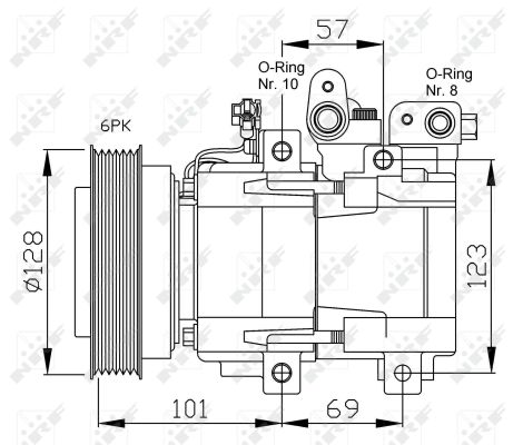 Compresseur NRF 32204 (X1)