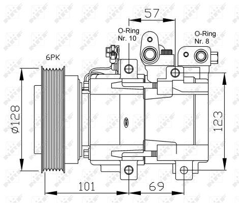 Compresseur NRF 32204G (X1)
