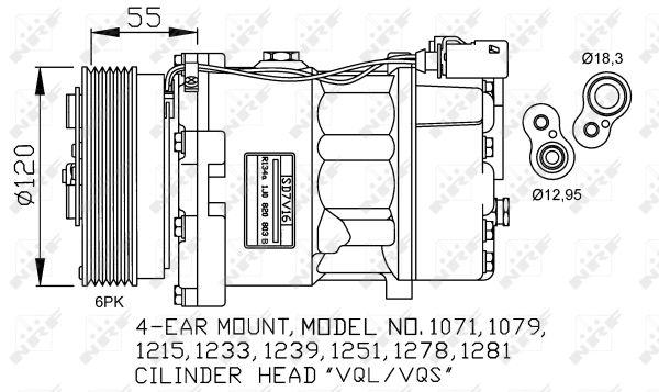Compresseur NRF 32206G (X1)