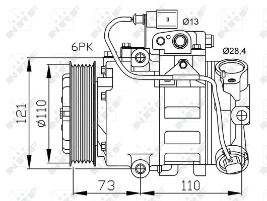 Compresseur NRF 32225 (X1)