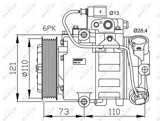 Compresseur NRF 32225G (X1)