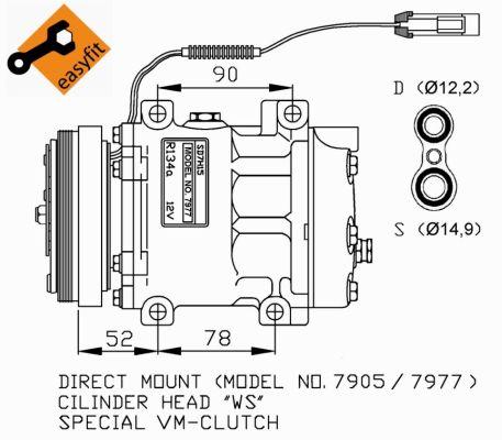 Compresseur NRF 32272G (X1)