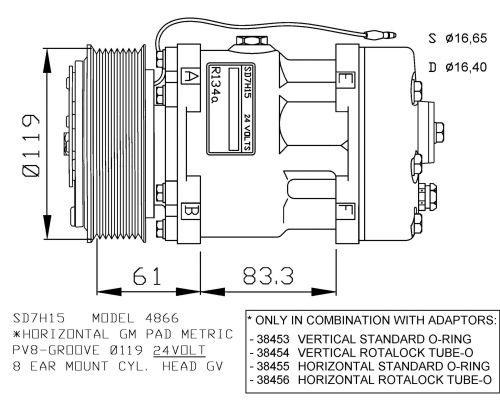 Compresseur NRF 32287G (X1)