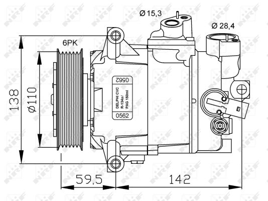Compresseur NRF 32500G (X1)