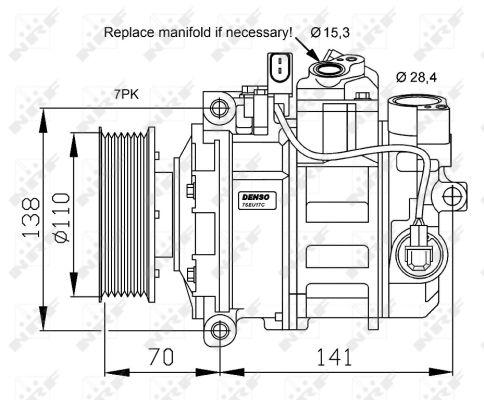 Compresseur NRF 32613G (X1)