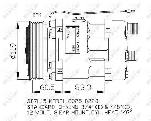 Compresseur NRF 32768G (X1)