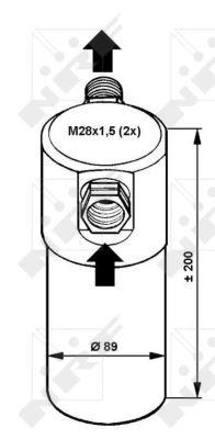 Bouteille deshydratante NRF 33081 (X1)