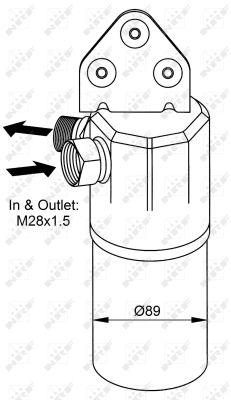 Bouteille deshydratante NRF 33131 (X1)