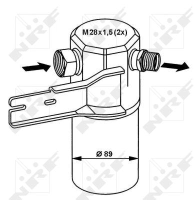 Bouteille deshydratante NRF 33132 (X1)