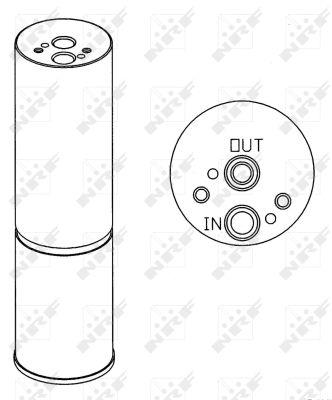 Bouteille deshydratante NRF 33168 (X1)