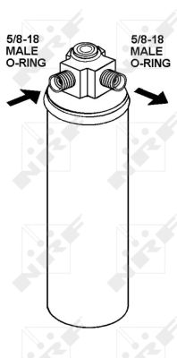 Bouteille deshydratante NRF 33287 (X1)