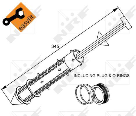 Bouteille deshydratante NRF 33299 (X1)