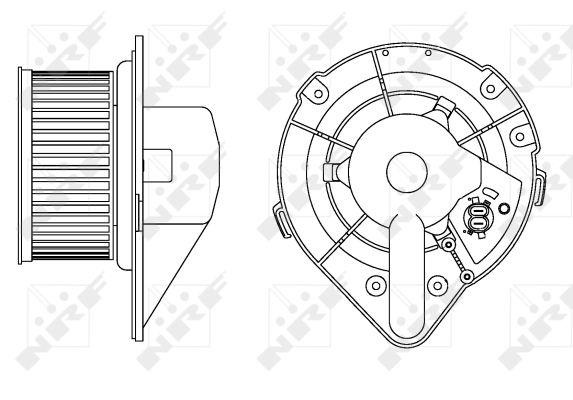 Chauffage et climatisation NRF 34164 (X1)