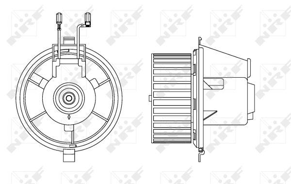 Chauffage et climatisation NRF 34165 (X1)