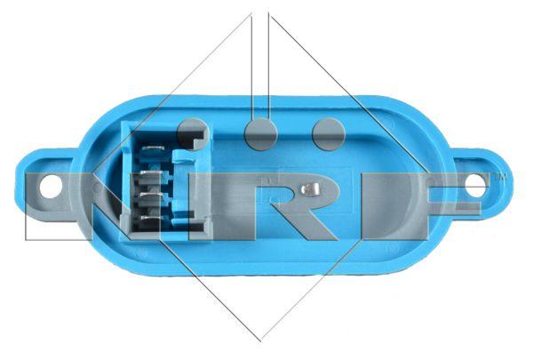 Resistance moteur de ventilateur de chauffage NRF 342010 (X1)