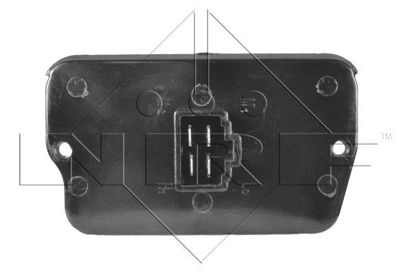 Resistance moteur de ventilateur de chauffage NRF 342017 (X1)