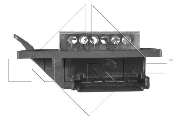 Resistance moteur de ventilateur de chauffage NRF 342020 (X1)