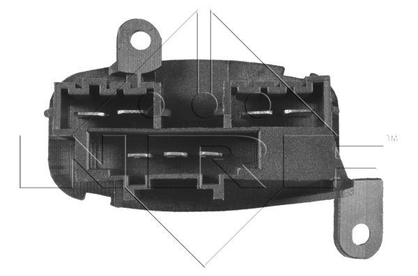 Resistance moteur de ventilateur de chauffage NRF 342022 (X1)
