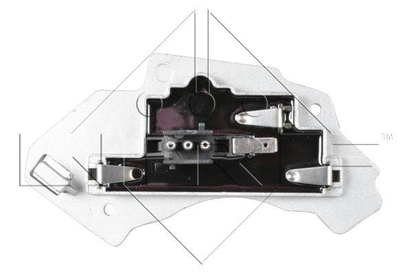 Resistance moteur de ventilateur de chauffage NRF 342025 (X1)