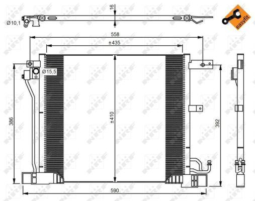 Resistance moteur de ventilateur de chauffage NRF 342066 (X1)