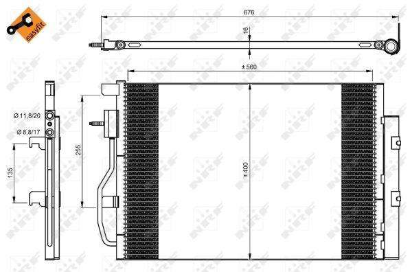 Resistance moteur de ventilateur de chauffage NRF 342070 (X1)