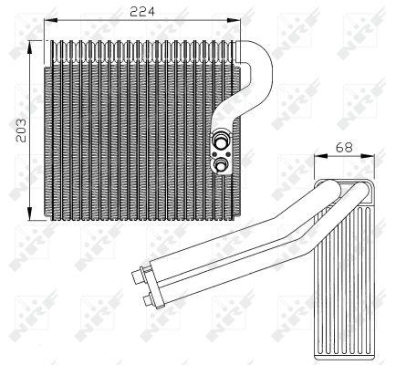 Evaporateur NRF 36063 (X1)
