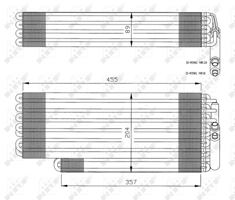 Evaporateur NRF 36078 (X1)