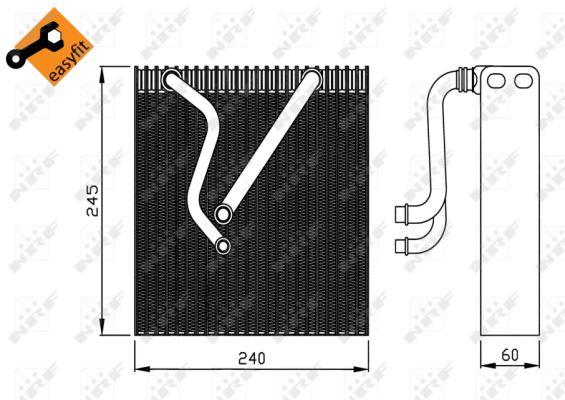 Evaporateur NRF 36109 (X1)