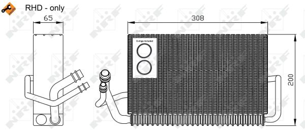 Evaporateur NRF 36117 (X1)