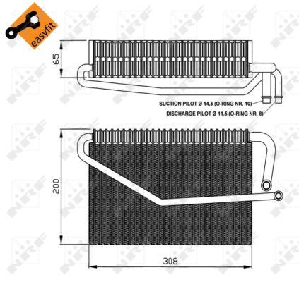 Evaporateur NRF 36122 (X1)