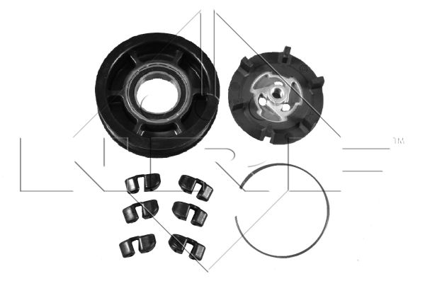 Bobine, compresseur-embrayage magnétique NRF 380010 (X1)