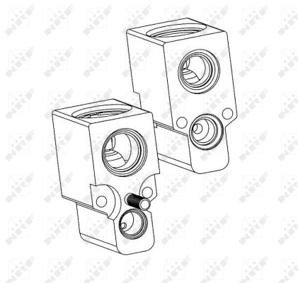 Detendeur de climatisation NRF 38342 (X1)