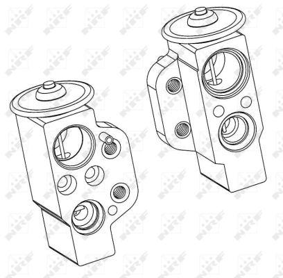 Detendeur de climatisation NRF 38368 (X1)