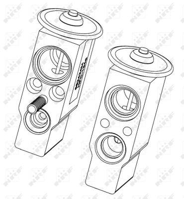 Detendeur de climatisation NRF 38406 (X1)