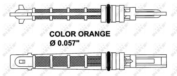 Detendeur de climatisation NRF 38449 (X1)